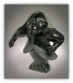 Inuit Art Information from choosing sculptures and prints, caring